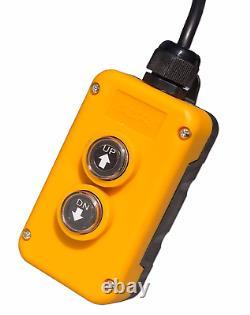 4 Commutateur De Télécommande De Remorque De Décharge De Fil Adapte Les Pompes Hydrauliques À Double Action