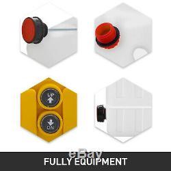 4 Pintes Double Effet Pompe Hydraulique Pour Dump Trailer 12v Unité