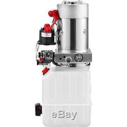 4 Pintes Double Effet Pompe Hydraulique Remorque À Déchargement Déchargement À Distance De Levage