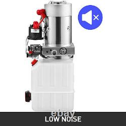 4 Quart Double Acting Hydraulic Pump Dump Trailer Control Kit Lifting 12v Great
