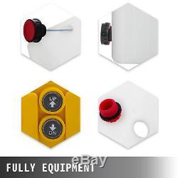 6 Pintes Double Effet Pompe Hydraulique Remorque À Déchargement Contrôle À Distance Kit Plastique