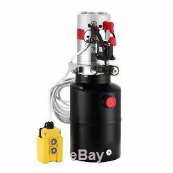 6 Pintes Simple Effet Pompe Hydraulique Remorque À Déchargement Déchargement Lift Unité D 'emballage