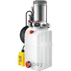 6 Quart Double Action Hydraulique Pompe Remorque Déchargement Réparation Plastique