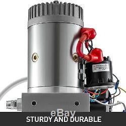 6 Way 6 Pintes Double Effet Pompe Hydraulique Dump Remorque Réparation Unité D 'emballage Ascenseur