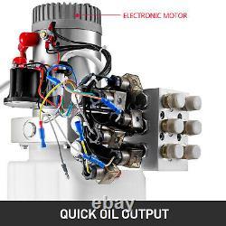 6 Way 6 Remontoir À Double Pompe Hydraulique Intérimaire Quart