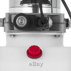 8 L Simple Effet Pompe Hydraulique Remorque À Déchargement Zz003835 24v Unité