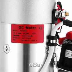 8 Pintes Pompe Hydraulique Double Effet 12v DC Remorque À Déchargement Unité D'alimentation