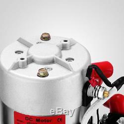 8 Pintes Simple Effet Pompe Hydraulique Remorque À Déchargement Voiture Ascenseur 12v