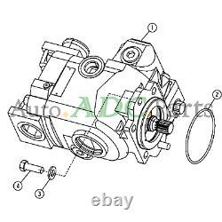 At197383 Pompe Hydraulique Pour Chargeuse De Camion John Deere 410g 410e