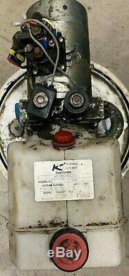Double Effet Dump Trai Pompe Hydraulique Kti 12 Volt DC Pièces 4442 3200psi 1245-15