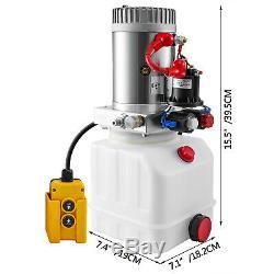 Double Effet Pompe Hydraulique Pour Déchargements 12vdc 3 Pintes Réservoir