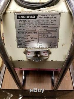 Enerpac Modèle Eed301 Hush-pup Électrique Pompe Hydraulique Dump Valve 10,000psi