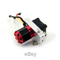 Engrenage Hydraulique Pumpmetal Pompe D'alimentation Avec Secours Kit Valve Pour 1/14 Rc Camion À Benne Basculante