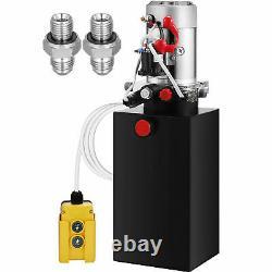 Grue De Déchargement De Pompe Hydraulique À Double Action De 6 Litres Déchargeant La Grue De Levage