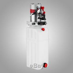 Grue En Plastique De Kit De Contrôle De Remorque De Décharge De Pompe Hydraulique À Effet Simple De 10 Pintes