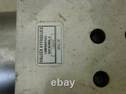 Haldex 4ne28 Hydraulic Power Unit 3000 Psi Max 2 Qt Labour De Neige Ascenseur Porte Décharge
