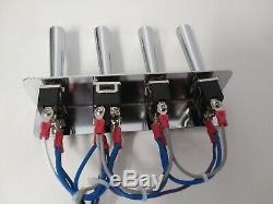 Hydraulique De Lowriders- (précâblé) 3-pompe- 3dump Kit F-b-bl-br Kit With17 Ft Cord
