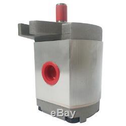 Hydraulique Simple Effet Pompe À Engrenages 21mpa 0.8-8ml / R Pour Les Remorques Dump Pelles