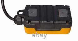 Interrupteur De Télécommande 3 Remorques À Dompte Pour Pompes Hydrauliques À Action Unique 12v