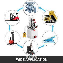 Kit De Contrôle De La Pompe Hydraulique À Double Action 4 Quart Lifting 12v Great