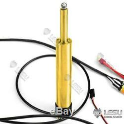 Lesu 100mm Pompe Hydraulique Cylindre Set Rétractable 1/14 Tamiya Rc Camion À Benne Basculante Bricolage