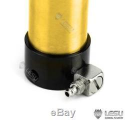 Lesu 110mm Pompe Hydraulique Cylindre Set Rétractable 1/14 Tamiya Rc Tombereau Diy