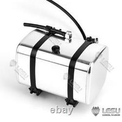 Lesu 130mm Pompe Hydraulique Cylindre Ensemble Rétractable 1/14 Rc Bricolage Tameya Camion À Pompe