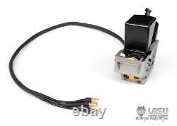 Lesu Hydraulic Oil Pump Urea Cans Set Pour 1/14 Rc Tamiya Camion Poubelle Modèle Bricolage