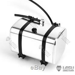 Lesu Pompe Hydraulique Cylindre Set 150mm Rétractable Rc 1/14 Tamiya Camion À Benne Basculante Bricolage