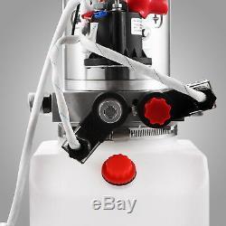 Levage En Plastique 12v De Remorque De Décharge De Pompe Hydraulique À Double Effet De 6 Pintes