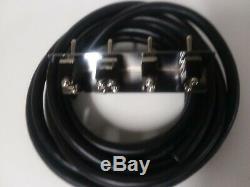Lowrider Hydraulique- Deux Ou Trois Pompes Avec Trois Décharges Kit 4-switch With17 Ft Kit
