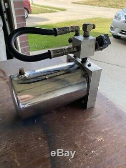 Lowrider Pompe Hydraulique Avec Raccords Dump Ralentissement (moteur Non Inclus)