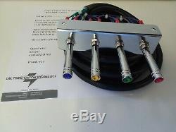 Lowriders- Hydraulique (précâblé) 2-pump + 4 Dumps F-b-bl-br17 Ft Cord. N'importe Quelle Couleur