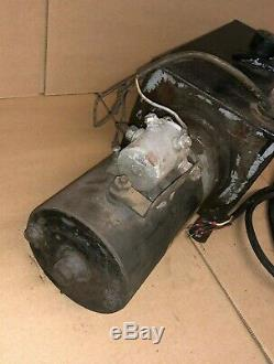 Monarch Hydraulics Hydraulique Camion-benne De Levage Pompe Condition De Travail Withwarranty