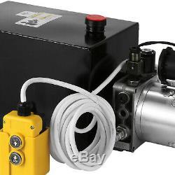 Nouvelle Pompe Hydraulique Simple Effet De Dump Trailer 12 Pintes