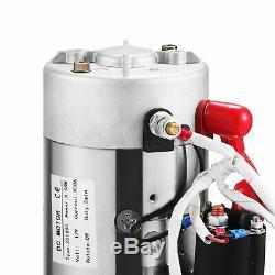Paquet D'unité De Paquet De Remorque De La Pompe 12v De Pompe Hydraulique À Double Effet De 10 Pintes