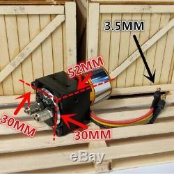 Pompe À Huile Hydraulique Gear + Moteur Brushless Pour Huina Rc 580 Pelle Camion À Benne Basculante