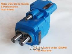 Pompe De Vidange Hydraulique G101-xms-20, Avec Renvoi, Réf. Parker G101-1-2.0 Metaris Mh101-g-2