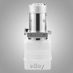 Pompe Hydraulique 12 Volts Pour Remorque De Benne Basculante 4 Pintes Poly À Double Effet