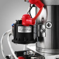 Pompe Hydraulique 12 Volts Pour Remorque De Benne Basculante Poly À Double Effet De 8 Pintes
