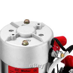 Pompe Hydraulique 12v DC Simple Effet 4 Pintes En Plastique Réservoir Pour Dump Trailer