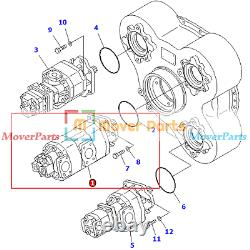 Pompe Hydraulique 705-95-07030 Pour Komatsu Dump Truck Hm400-2