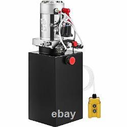 Pompe Hydraulique À Double Action 12 Volts Pour Remorque À Décharge Crane De 8 Quarts