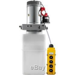 Pompe Hydraulique À Double Action Double Pour Déchargements 6 Pintes 12 VDC