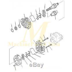 Pompe Hydraulique Ass'y 705-52-42220 Pour Komatsu Hd785-7 Bouteurs
