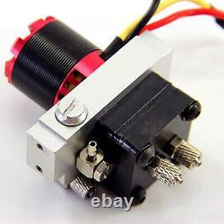 Pompe Hydraulique Pumpmetal Power Pump Avec Kit De Soupape De Secours Pour 1/14 Rc Dump Truck