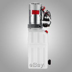 Pompe Hydraulique Simple Effet De Dump Remorque 6 Pintes Translucide Réservoir