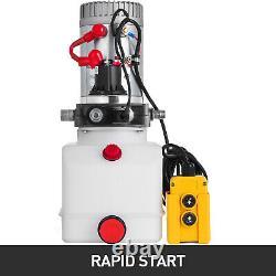 Remontage Du Kit De Commande De L'unité D'alimentation De La Remorque À Pompe Hydraulique À Action Unique 4,5l