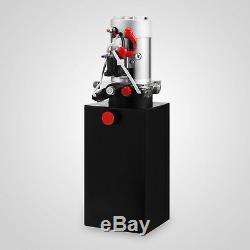 Remorque À Benne Basculante D'unité D'alimentation De Pompe Hydraulique Dc12v À Débit Élevé, 8 Litres