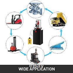 Remorque Benne Hydraulique Pompes 4/6/8/10 / 15l En Plastique / Fer Réservoir Simple / Double Effet